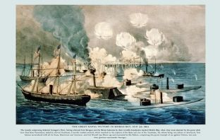 Great Naval Victory in Mobile Bay